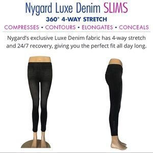Nygard Luxe Denim Slims 360/4-Way Stretch Ankle